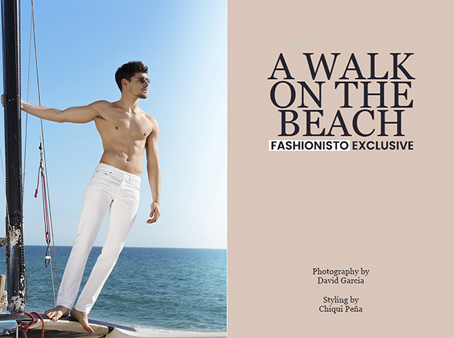THE FASHIONISTO. A walk on the beach