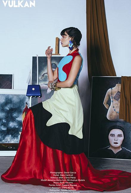 VULKAN. My dress hang there