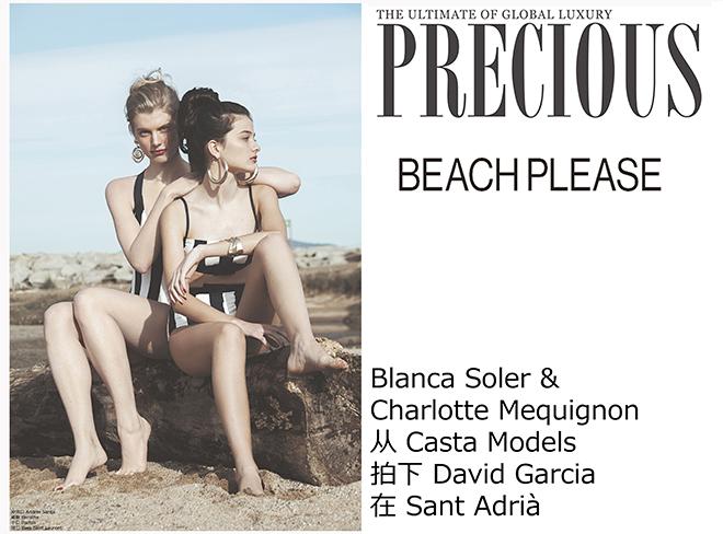 PRECIOUS. Beach Please