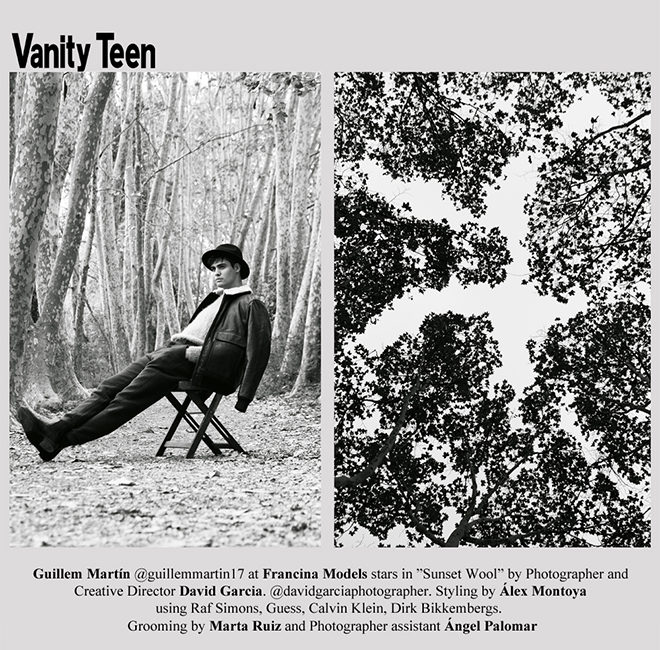 VANITY TEEN. Sunset Wool